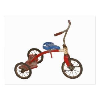 Triciclo velho cartão postal