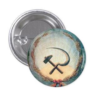 Trigo pequeno, 1 botão redondo do martelo & da bóton redondo 2.54cm