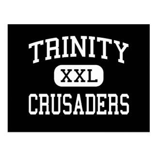 Trindade - cruzados - católico - Stamford Cartão Postal