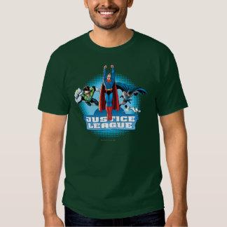 Trio do poder da liga de justiça t-shirt