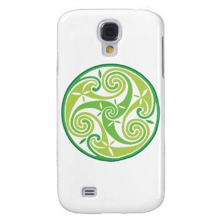 Triskel verde galaxy s4 cases