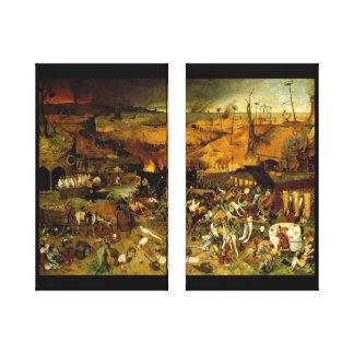 Triumph de canvas da morte impressão em tela