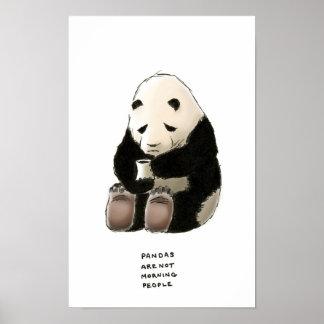 trivialidade da panda impressão
