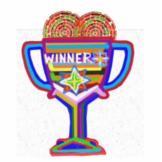 Troféu do campeão do vencedor Artista Naveen Josh Foto Esculturas
