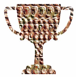 Troféu do vencedor CaveStyle GoldCoins Esculturafoto