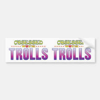 Troll 2 obcecados adesivo para carro