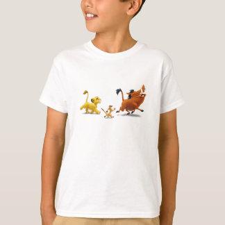 Trotar do canto do pumbaa do timon do filhote do camiseta