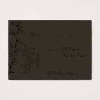 Trufa (cartão de RSVP) Cartão De Visitas