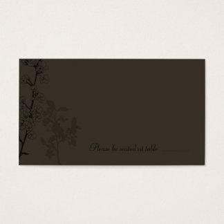 Trufa (cartão do lugar) cartão de visitas