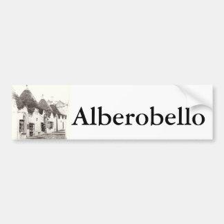 trullis em Alberobello, Puglia, Italia Adesivo Para Carro