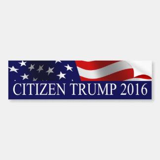 Trunfo 2016 do cidadão adesivo para carro