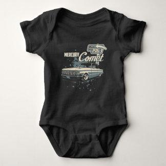 Tshirt 1963 cometa de Mercury - vintage