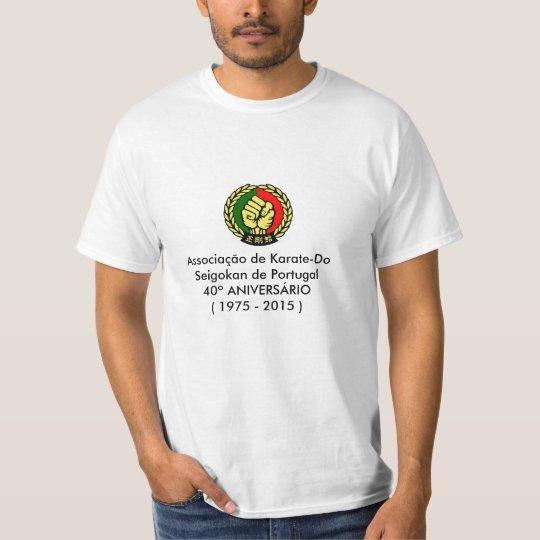 Tshirt 40º Aniversário