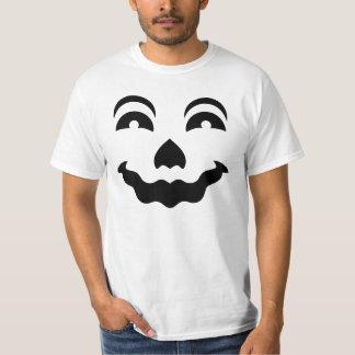 Tshirt 5 da cara da abóbora do Dia das Bruxas