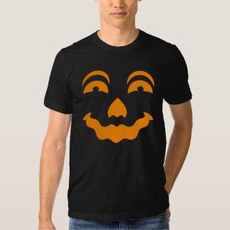 Tshirt 6 da cara da abóbora do Dia das Bruxas