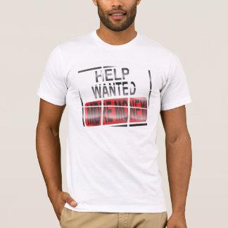 """Tshirt A ajuda quis """"MAIS DINHEIRO"""" vitrificado"""