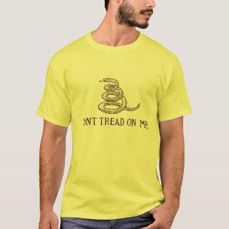 Tshirt A bandeira de Gadsden não pisa em mim - o estilo