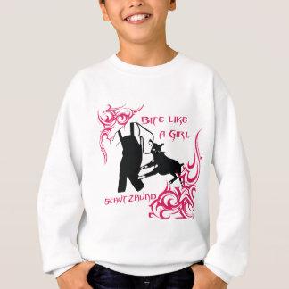 Tshirt A mordida gosta de uma menina