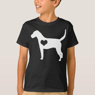 Tshirt A obscuridade do coração do Foxhound americano