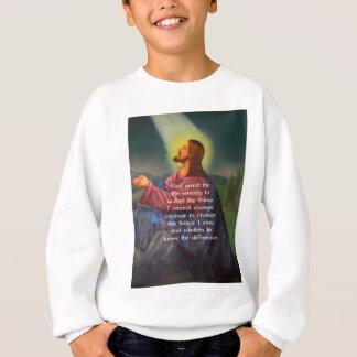 Tshirt A oração da serenidade com pintura do Jesus Cristo