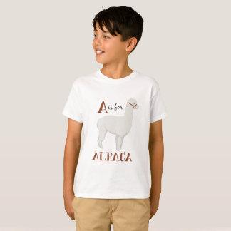 Tshirt A para a alpaca