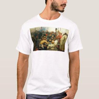 Tshirt A resposta dos Cossacks de Zaporozhian às mães da