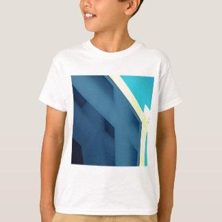 Tshirt Abstrato do azul