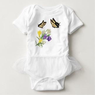 Tshirt Açafrão colorido Flowers2