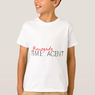 Tshirt Agente renegado do tempo