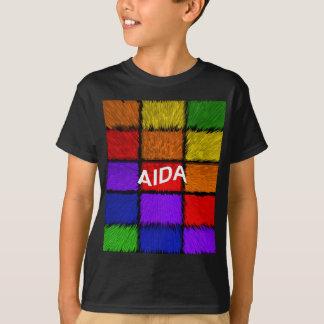 Tshirt AIDA (nomes fêmeas)