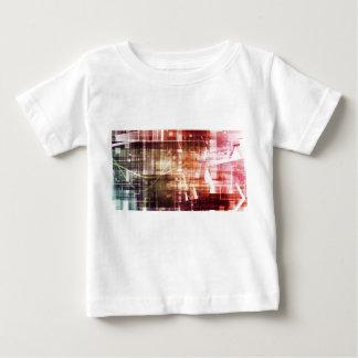 Tshirt Aparência de Digitas com arte de transferência da