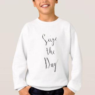 Tshirt Apreenda o design do roteiro da escova do dia