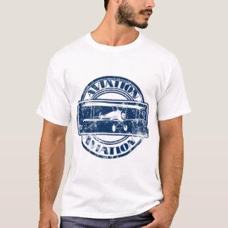 Tshirt Arte retro da aviação