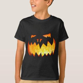 Tshirt assustador do Dia das Bruxas da abóbora
