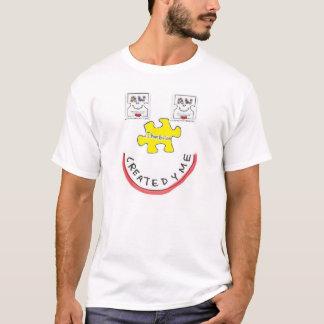 Tshirt Autismo dado boas-vindas criado para o adulto com
