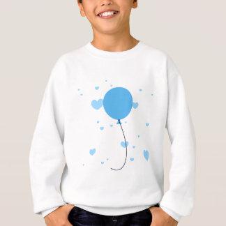 Tshirt Balão & corações azuis