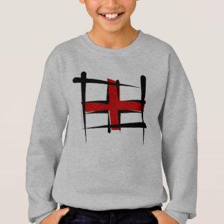 Tshirt Bandeira da escova de Inglaterra