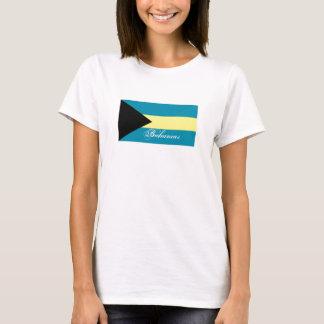 Tshirt Bandeira de Bahamas