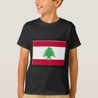 Tshirt Bandeira de Líbano