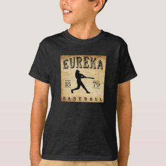 Tshirt Basebol 1879 de Eureka Califórnia