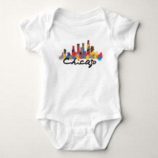 Tshirt Bebê de Chicago