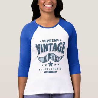 Tshirt Bigode do hipster do vintage