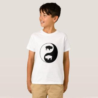 Tshirt Bisonte de Yin Yang