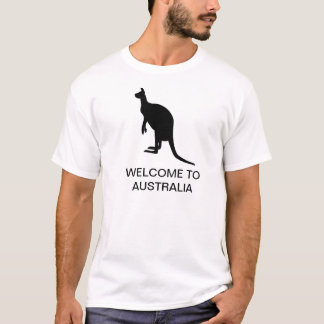 Tshirt Boa vinda a Austrália