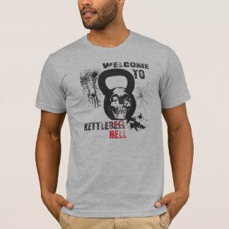 Tshirt Boa vinda ao inferno de Kettlebell