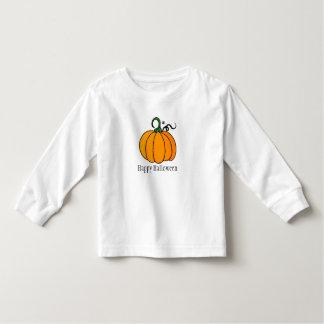Tshirt bonito feliz da abóbora do Dia das Bruxas