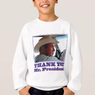Tshirt Bush-Obrigado-você