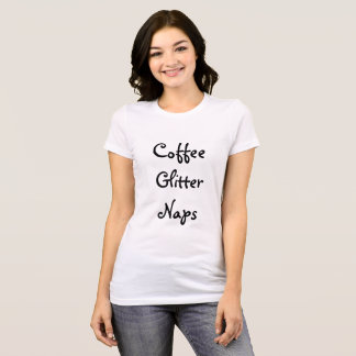 Tshirt Café, brilho, sestas