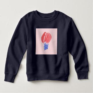 Tshirt Camisola da criança do balão de ar