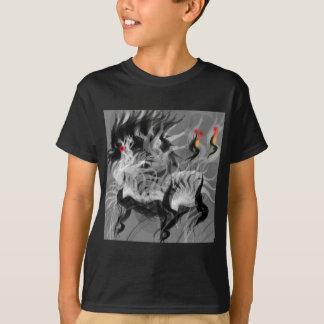 Tshirt Cão pequeno abstrato